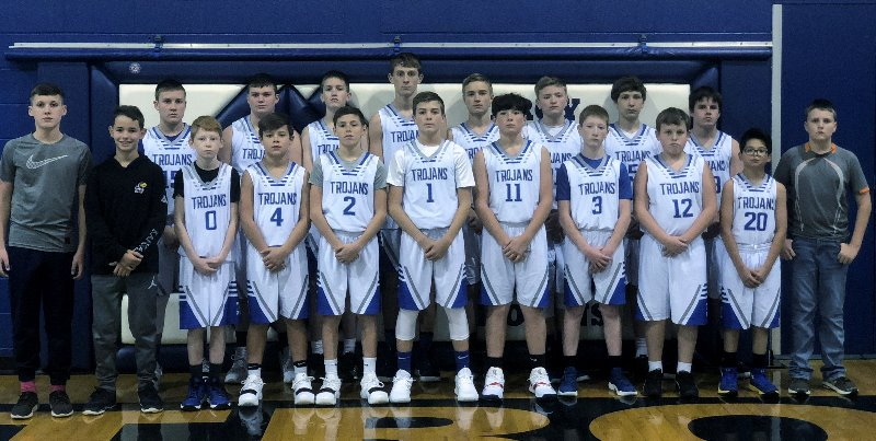Troy Public Schools 2018 2019 Tms Boys Basketball
